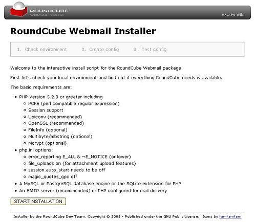 roundcube installer db inc tutoriels php