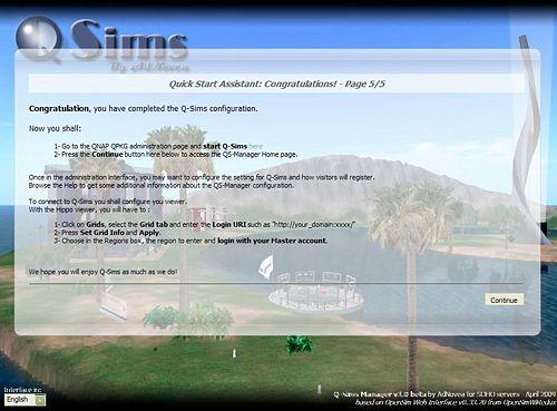 Q-Sims - Installation - QNAPedia