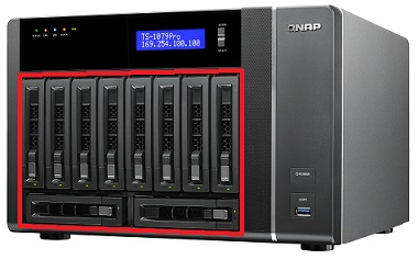 QNAP TS-670 Turbo NAS QTS Driver Windows